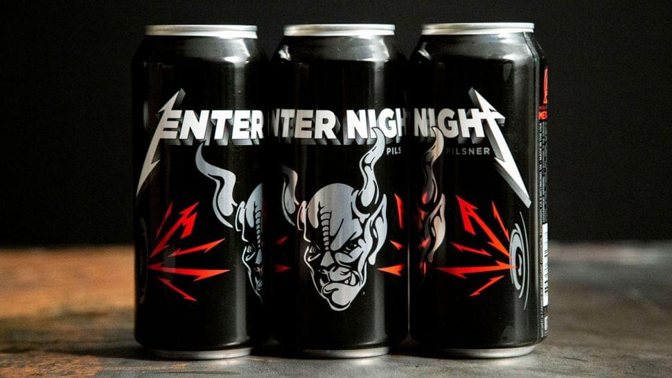 Metallica Brew Up A Storm With New Enter Night Beer
