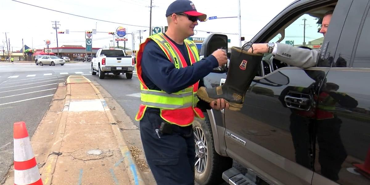 WFFD Annual Fill The Boot Campaign Underway