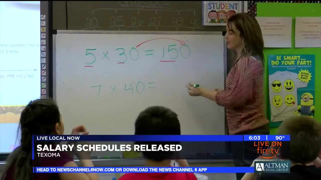 Local School Districts Release New Salary Schedule