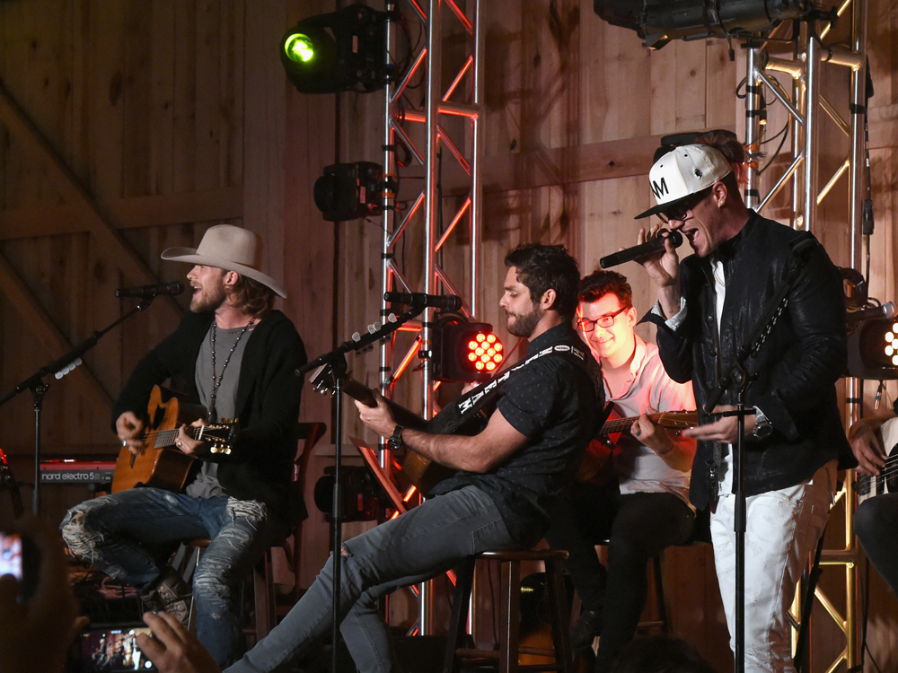 Thomas Rhett and a Few of His Friends, Including Dierks Bentley & FGL, Raise More Than $250,000 in Inaugural Charity Event