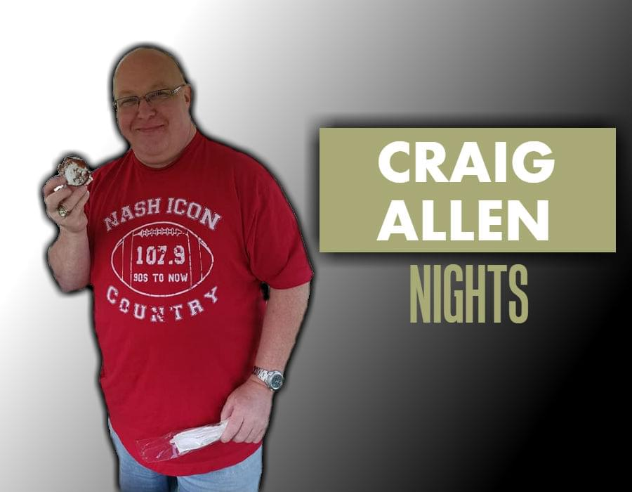 Craig Allen, 7pm-12am