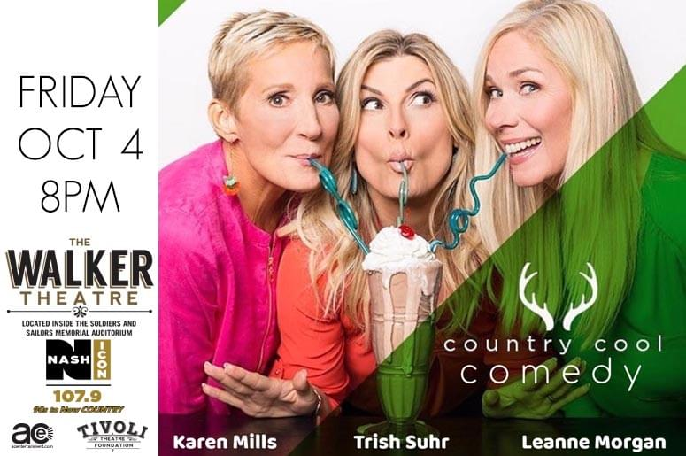 October 4th, Country Cool Comedy @ Walker Theatre | WOGT-FM