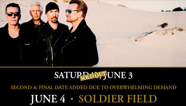 U2 with The Lumineers – 2nd Show Added