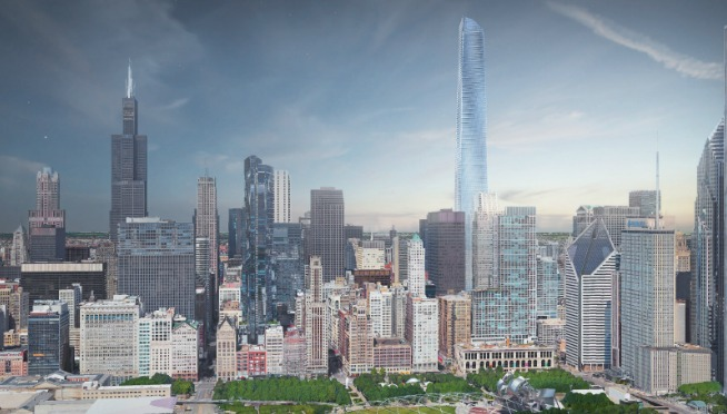 SEARS TOWER BEING THREATENED a taller building could replace Thompson Center