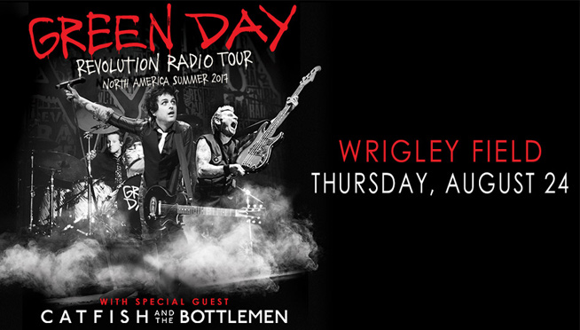 8/24/17 – Green Day with Catfish And The Bottlemen