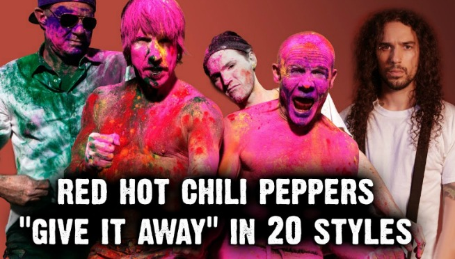 Red Hot Chili Peppers – Give It Away   Ten Second Songs 20 Style Cover