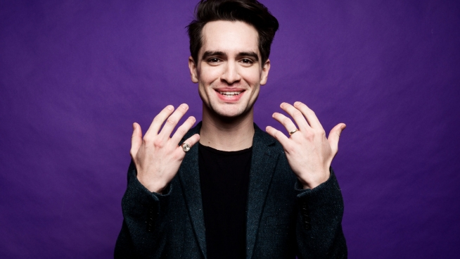 Brendon Urie in Kinky Boots!