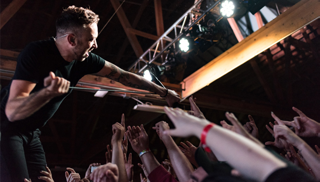 Rise Against at House of Vans