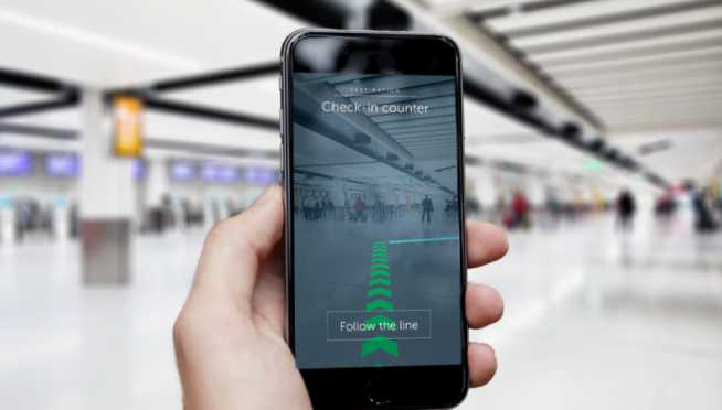 U.K. Airport launches indoor navigation system to help passengers find their way