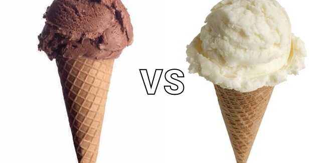 chocolate vs vanilla ice cream poll