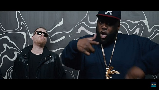 Run The Jewels Pop Up For Lolla