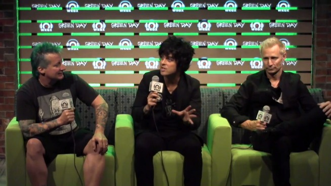Watch the full Green Day Press Conference in the Lounge