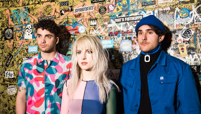 Paramore walk through a sea of 'Fake Happy' in new video