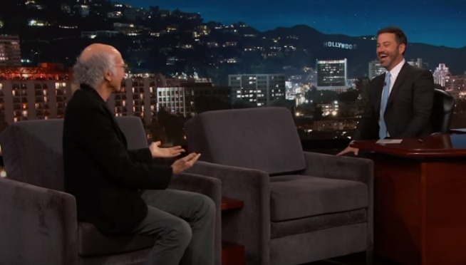 Larry David Reveals He Hates Animals and People on Jimmy Kimmel