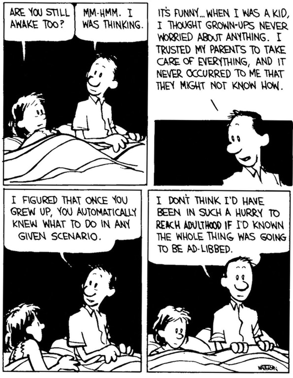 """You Know What the World Needs? More """"Calvin and Hobbes"""