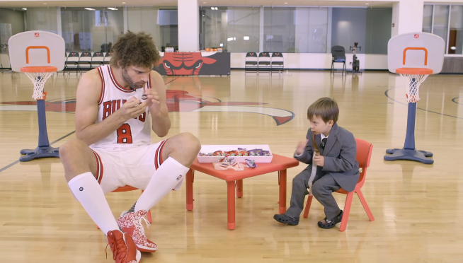 Watch the Chicago Bulls talk show hosted by a kid named Henry