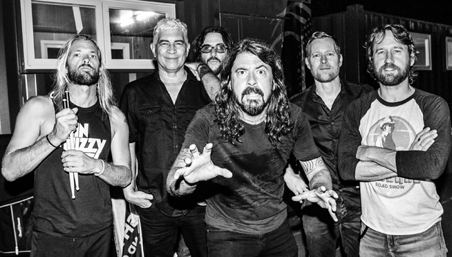 Watch Foo Fighters rock Late Late Show in London, What Pop singer saved Dave Grohl?