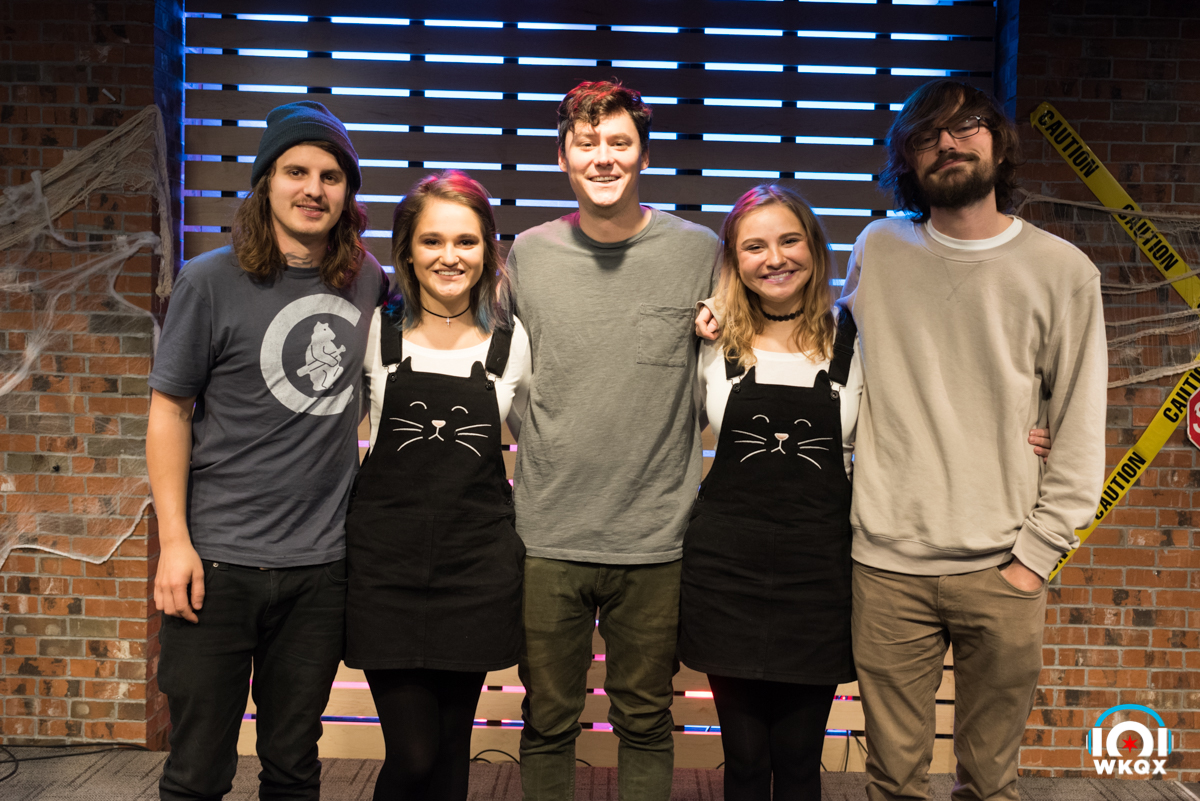 the front bottoms in the lounge 101wkqx wkqx fm