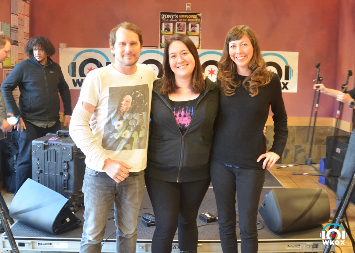 food drive with silversun pickups 101wkqx wkqx fm. Black Bedroom Furniture Sets. Home Design Ideas