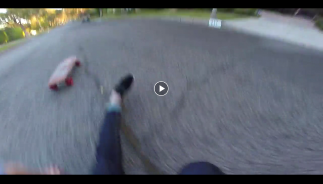 Things Go Bad For GoPro Skateboard Hero.  Very Bad.