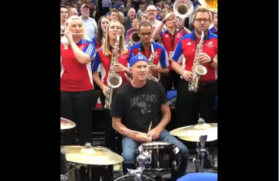 Chad Smith was at the United Center Tuesday