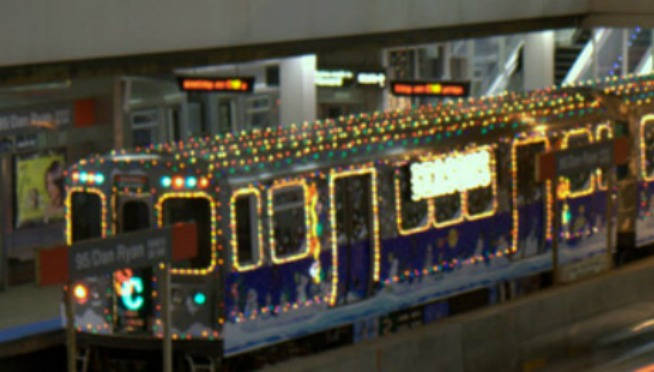 heres the schedule for the cta holiday train