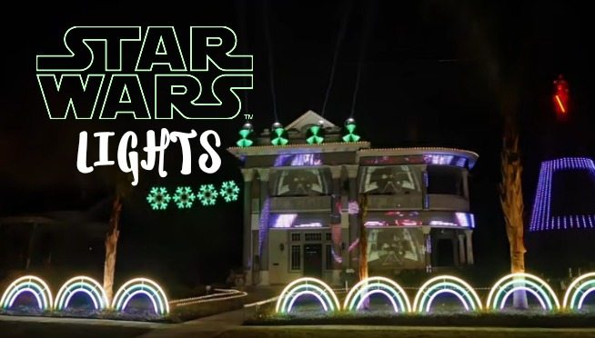 The Force is Strong with these Christmas Lights