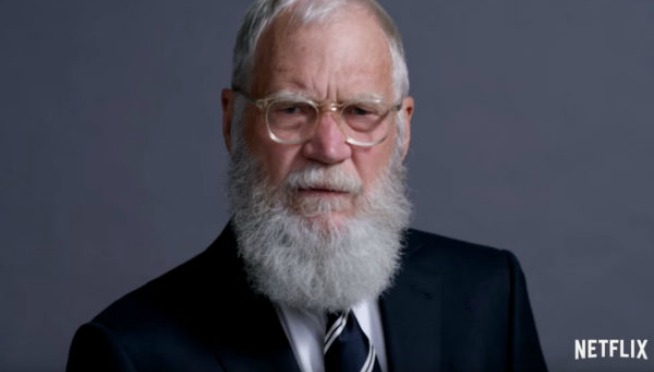 Trailer for David Letterman's new Netflix show