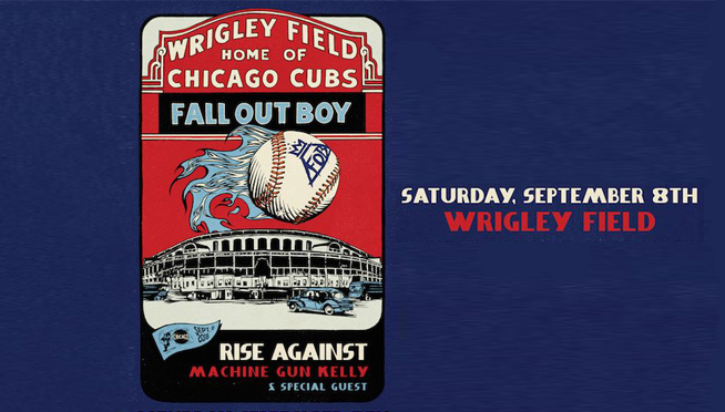 Fall Out Boy & Rise Against at Wrigley Field