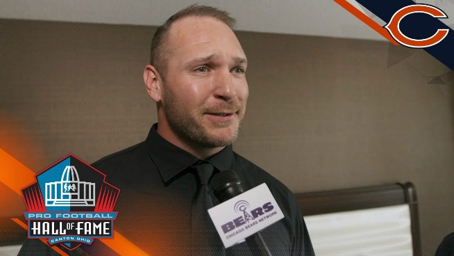 Watch Brian Urlacher get the Hall of Fame news