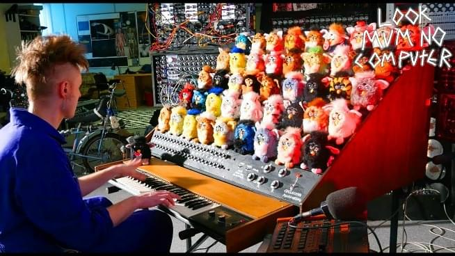 THE FURBY ORGAN: A MUSICAL MONSTER YOU MUST SEE