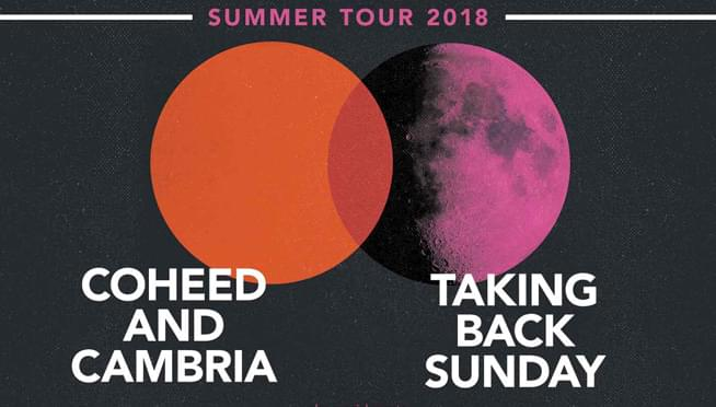 7/26/18 – Coheed and Cambria & Taking Back Sunday