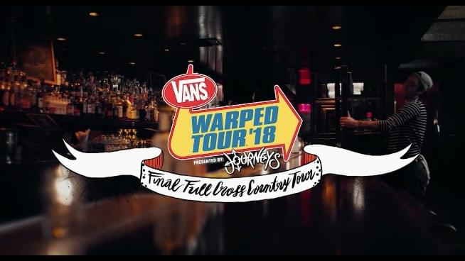 Here is Warped Tour's final lineup