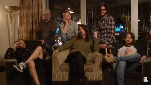 The History of Foo Fighters on SNL
