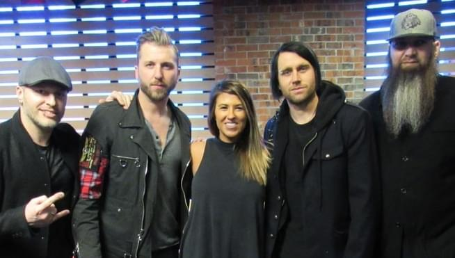 Three Days Grace in The Sound Lounge