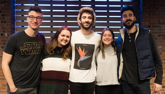 AJR in The Sound Lounge