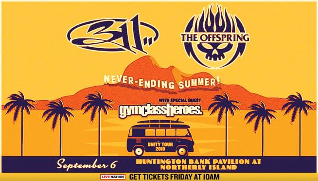 9/6/18 – 101WKQX Presents… 311, The Offspring, & Gym Class Heroes