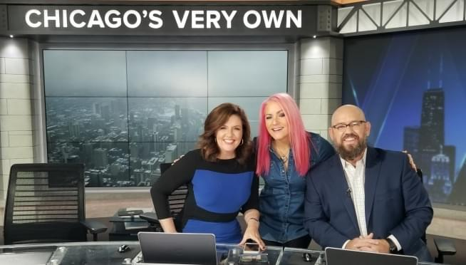 Behind The Scenes At WGN Morning News
