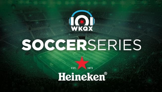 6/28/18 – Win Chicago Fire Tickets from the 101WKQX Soccer Street Team!
