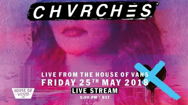 Watch CHVRCHES's Pop Up Show in London