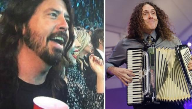 Watch Weird Al Yankovic crush a Foo Fighters cover