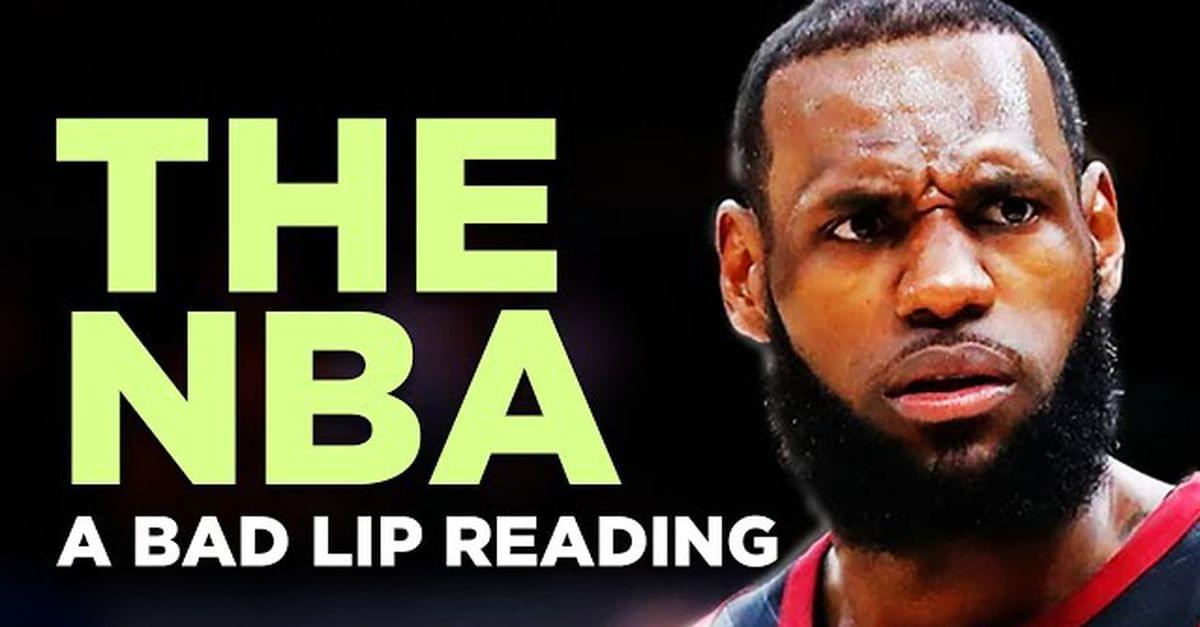 NBA Bad Lip Reading