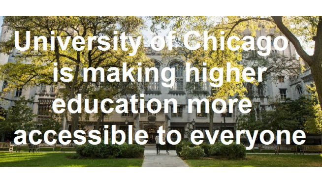 Big changes for the University of Chicago