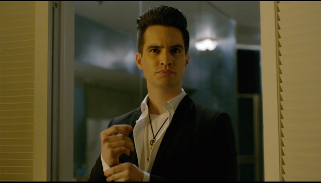 "The (unintentionally hilarious) making of Panic! At The Disco's ""Saturday Night"" music video."