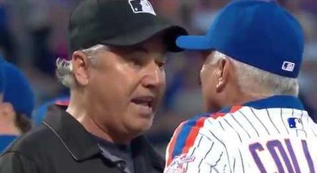 Such A Nice Conversation Between Ump and Manager