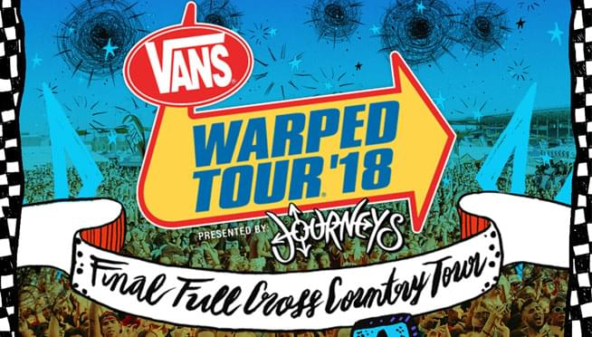 7/21/18 – Warped Tour 2018
