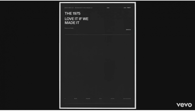 The 1975 drop new music!