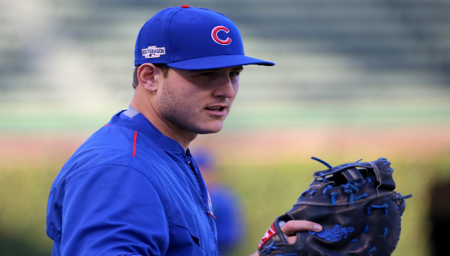 Anthony Rizzo pitching wasn't the best part…it was what happened BEFORE he took the mound.