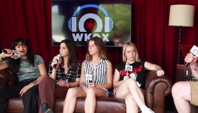 Lollapalooza: The Aces ready to deliver a flush (backstage interview with Eric)