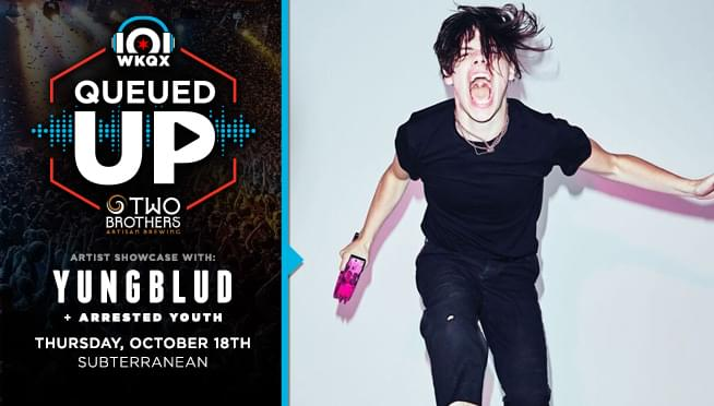 Queued Up Artist Showcase with YUNGBLUD